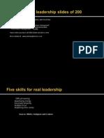 15 Leadership Samples