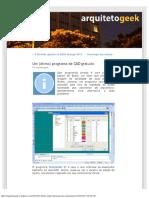 Um (ótimo) programa de CAD gratuito «.pdf