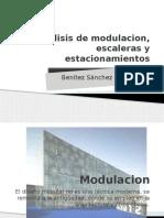 Analisis de Modulacion Escaleras y Estacionamientos