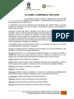 Analisis de La Republica de Platon