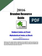 2016 resource guide update