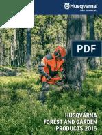 Husqvarna Consumer Catalog 2016