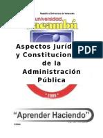 Aspectos Juridicos y Constitucionales