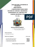 Informe de Area de Decantación