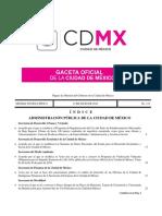 Gaceta Oficial de la CDMX