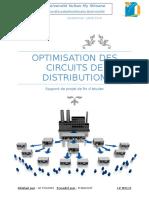 Optimisation Des Circuits de Distribution