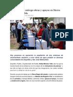 17-03-2016 SDPNoticias - Moreno Valle Entrega Obras y Apoyos en Sierra Negra de Puebla