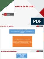 Estructura de La UGEL 06