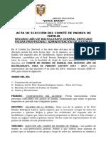 Acra Eleccion Directiva Padres de Familia 2do BGU 2016