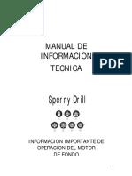 Motor Sperry Drill