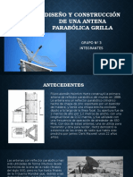 Diseno y Construccion de Antena Parabolica