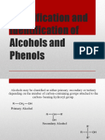 Classify and Identify Alcohols and Phenols