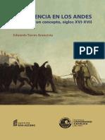 Violencia en Los Andes
