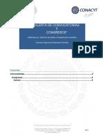 Convocatorias Abiertas Del CONACyT