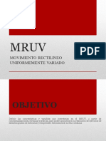5.- MRUV
