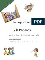 Trabajar La Paciencia en Los Niños