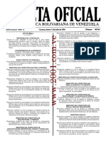 Gaceta Oficial Número 40.941 - Decreto 2.367