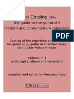 Pocci Catalog 31th Year 2016 Anthologies