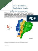 Ruta de Los Volcanes Ecuador
