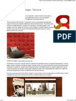 Elementos de Design - A Textura