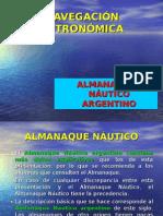 ALMANAQUE NÁUTICO ARGENTINO USO