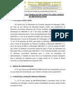 Regulamento de Tc Da Metropolitana