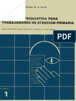 Manual de Psiquiatría Para Trabajadores de Atención Primaria 1