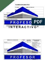 Planeación 3 grado (Bloque 1)