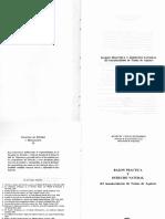 G Huidobro. Razón Práctica y Derecho Natural