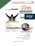 Hegemonía - Política - Sociopolítica