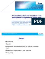 4_Tourunen_VTT - Dynamic Simulation and Simulation Tools Development of Oxyfuel-CFB Power Plant