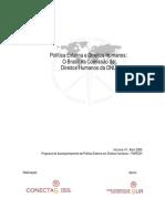 Politica Externa e Direitos Humanos - O Brasil Na Comissão de Direitos Humanos Da ONU