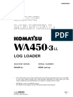 Komatsu Wheel Loaders WA450-3 Shop Manual