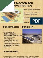 Extracción Por Solventes (Sx)