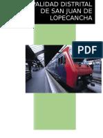 Municipalidad Distrital de San Juan de Lopecancha