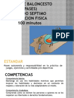 Clase de Baloncesto (Pases) Roberto Torres