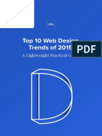 Uxpin Top 10 Web Design Trends of 2015
