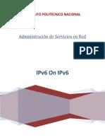 Túneles IPv6 sobre IPv4