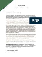 Popu- De Ordenacion de Cuencas Hidrograficas.