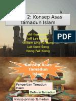 Konsep Asas Tamadun Islam Lengkap