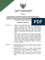 Keputusan Gubernur Lampung Baru