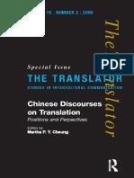 Introuction - Chinese Discourses on Translation