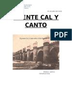 PUENTE CAL Y CANTO Patrimonio e Historia Sustentable