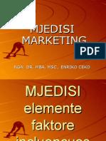 Mjedisi Marketing Prezantim Dr. MBA, MSc., Enriko Ceko