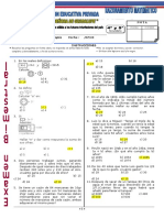 Exa - II Bimestre - Razonamiento Mat 04 y 05