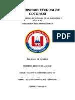 Universidad Técnica de Cotopaxi (Equidad de Genero)