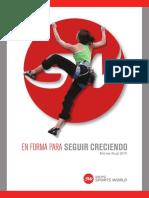Sportsworld Informe Financiero