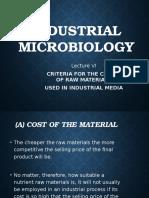 Industrial Microbiology Lec 6