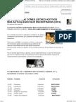 El Veneno Que Comes Listado Aditivos Mas Actualizado Que Encontraras (2014)