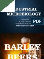Industrial Microbiology Lec 9